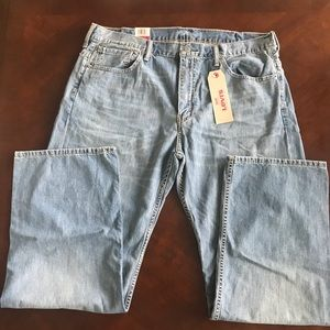 NWT Men's  Levi's 569 38x33  Loose Straight Jeans